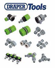 Draper Garden Water Hose Pipe Tap Connectors & Fittings