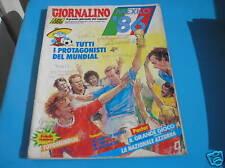 IL GIORNALINO SUPPLEMENTO PROTAGONISTI DEL MUNDIAL 1986