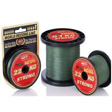 WFT KG Strong Schnur grün 300m geflochtene Schnur Norwegen Stärke wählbar