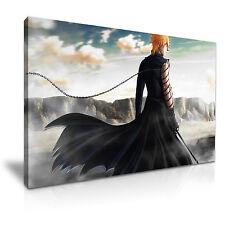 BLEACH Ichigo Japanese manga Canvas Framed Print Wall Art ~ More Size