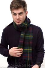 Scottish pure Wool Tartan Clan Scarf Farquharson Modern
