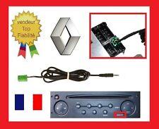 Cable auxiliaire aux adaptateur mp3 autoradio RENAULT UDAPTE LAGUNA 2