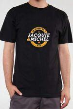 T-shirt Jacquie & Michel 9321 modéle n°3 Inscription Jaune Tailles S L XL ou 3XL
