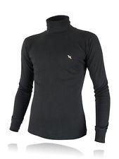 Back on Track Herren Rollkragen Shirt schwarz NEU Sweatshirt Rolli Größe wählbar