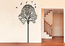 Bm11 murales wall sticker árbol ramas pájaro pared Pegatina 40 colores para Wah