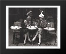 Cafe et Cigarette, Paris, 1925 16x14 Framed Art Print by Roger Viollet