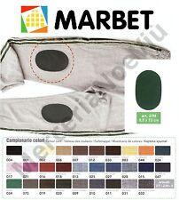 Toppe Ovali MINI MAGLINA Termoadesive MARBET  8,5x13cm Tutti i Colori