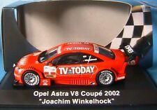OPEL ASTRA V8 COUPE 2002 #8 JOACHIM WINKELHOCK TV TODAY SCHUCO 04801 1/43