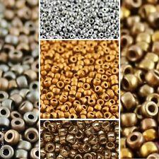 CHOOSE COLOR! 8/0 MATUBO 10gr. (ab.300pcs) Czech Glass Premium Seed Beads