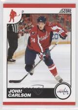 2010-11 Score Glossy #482 John Carlson Washington Capitals Hockey Card