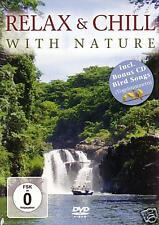 DVD Relax y Chill Con Nature 3DVDs + Bonus CD