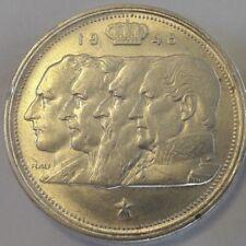 100 Francs 4 rois 100 Frank 4 Koningen 1948 ==> 1954 FR NL FL Belgique Belgïe