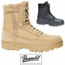 Brandit ZIPPER Tactical Boot 9017 Taktische Militärische Stiefel Wildleder