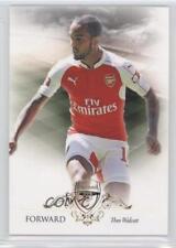 2016 Futera Unique Arsenal #23 Theo Walcott FC Rookie Soccer Card
