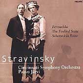 Jarvi/Cincinnati SO, Stravinsky: Petrouchka, The Firebird Suite, Scherzo a la Ru