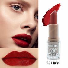 PHOERA Non Stick Matte Lipstick Colour Long Lasting Waterproof Moisturizing UK