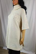 Ladies Ralph Lauren Short Sleeve Wool Sweater Poncho ~NWT~