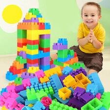 250pcs Plastic Children Kid Puzzle Educational Building Blocks Bricks Kids Toys