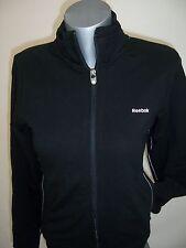 Veste Jacket neuve Sweat zippé femme Reebok taille S ou L coloris noir