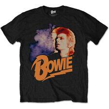 """David BOWIE """"Retrò Bowie 2"""" T-SHIRT - Nuovo & Ufficiale!"""
