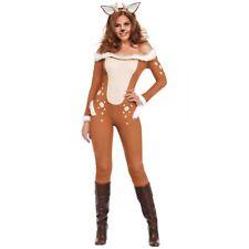 Deer Costume Adult Sexy Reindeer Bambi Female Rudolf Halloween Christmas