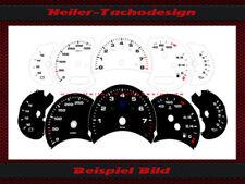 Tachoscheiben Porsche 911 996 oder Facelift Tacho Speddometer US miles