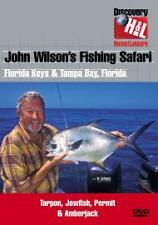 John Wilson's Fishing Safari - Florida Keys & Tampa Bay (DVD, 2004) Brand New