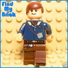 SW708 Lego Star Wars Han Solo Minifigure 6212 4504 -NEW
