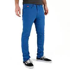 Superslick Pantalon Bleu Tight Pant-slimfit Pantalon-unisexe dames et messieurs