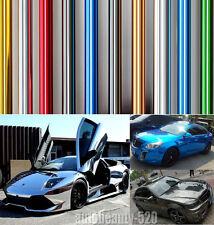 Colorful -  New Car Glossy Mirror Chrome Vinyl Wrap Decal Film Sticker Sheet ABC