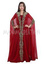 EXCLUSIVE MOROCCAN DUBAI ARABIAN PARTY WEAR KAFTAN DRESS FOR WOMEN 6584