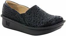 Women's Alegria Debra Black Delicut Professional Nursing Shoe DEB-435