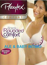 REGGISENO PLAYTEX ABSOLU ROUNDED COMFORT CON FERRETTO ART. P004R COPPE B C D
