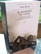2011 ROMANZO DI TOM KNOX 'IL MARCHIO DI CAINO' EUGENETICA