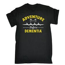 ADVENTURE Prima Demenza T-shirt CANOTTAGGIO KAYAK scherzo Tee Top regalo festa del papà