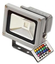 FARO FARETTO A LED RGB 10 - 20 - 30 - 50W WATT CON TELECOMANDO IP65 DA ESTERNO