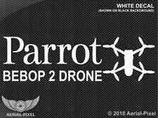 Parrot Bebop 2 Drone Window / Case Decal Sticker Quadcopter UAV SkyController
