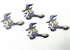 Halloween Dekorative Knöpfe Holz Hexenform Nähen scrapbooking crafts 35mm