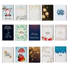 Christmas Planner, Gift List, Xmas Organiser, Notebook Notepads