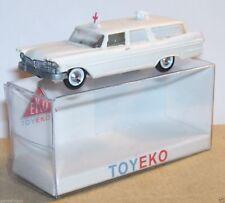 MICRO TOY EKO TOYEKO HO 1/86 1/87 SPAIN PLYMOUTH SUBURBAN REF 2043 & 2156 in BOX
