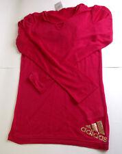 Filles adidas à manches longues à capuche chemise coton top différentes tailles et couleurs (A-52)
