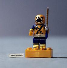 Mega Bloks Power Rangers Series 2 Battle Damage Gold Ranger Common
