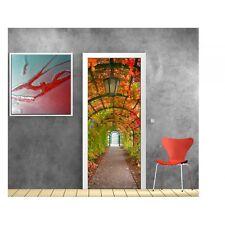 Affiche poster porte déco Jardin 802 Art déco Stickers
