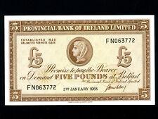 Northern Ireland:P-246,5 Pounds,1968 * Provincial Bank * UNC *