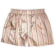 NEW Royal Silk® Stripes Mix 2-Pack Men/'s Silk Boxers S-3XL