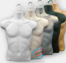 Male Hanging Mannequin Half Body Form  Bust Shop Display 3Qtr Male SDL3/4