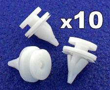 10x Plástico Panel De Puerta -clips se adapta a Renault Kangoo,Clio Ajuste Clips