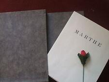 HUYSMANS J.K. - MARTHE ...HISTOIRE D' UNE JEUNE FILLE  1931
