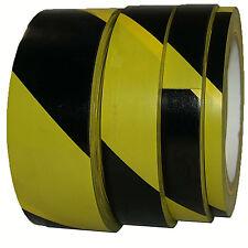 PVC Bodenmarkierung Markierungsband Gelb Schwarz 9 19 25 38mm x 33m Warnband