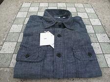UNIQLO Chambray Dark Navy Light Denim Jean UNIQUILO Shirt H&M H and M Supreme!!!